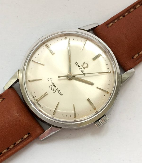 Vintage Ladies Manual Omega Seamaster 600