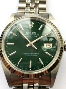 a2348 rolex green dialed datejust (0)