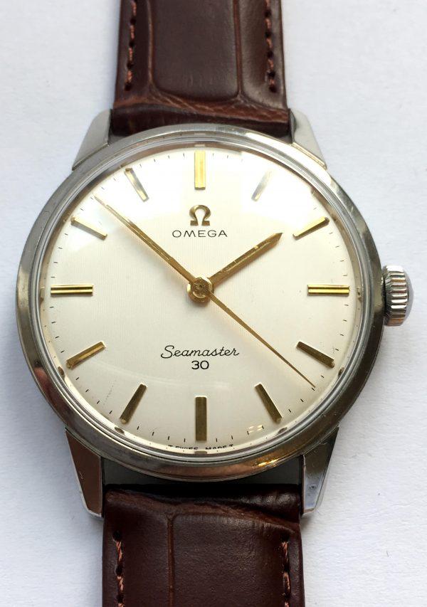 Vintage Omega Seamaster 30 Leinen Ziffernblatt