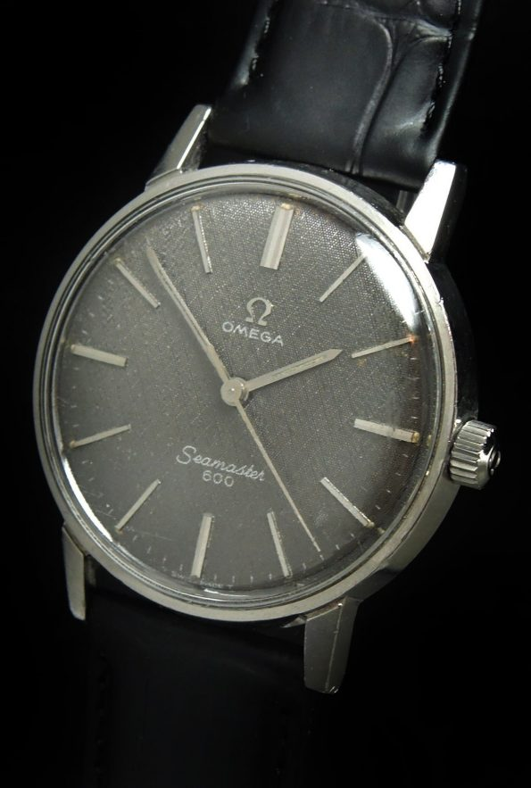 Very Rare Omega Seamaster 600 with Dark Grey Linen Dial