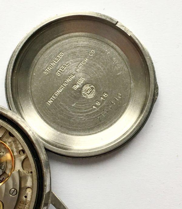 IWC Automatic Vintage Roman Dial