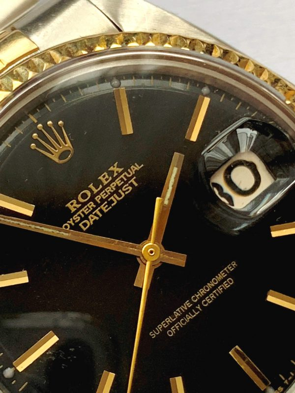 Restaurierte Rolex Datejust 36mm Stahl Gold Jubilee Armband