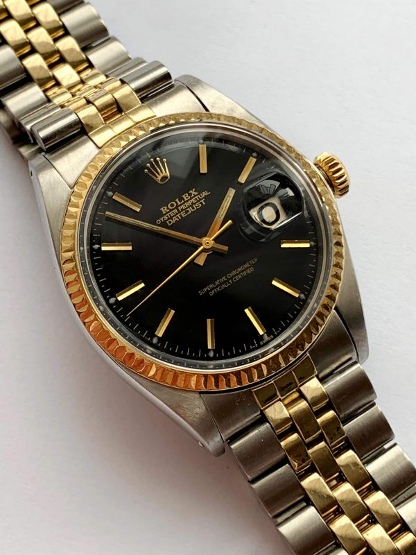 Restored Rolex Datejust 36mm Steel Gold Jubilee Strap