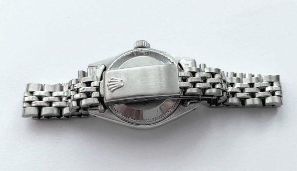 Perfect Rolex Ladies Date Automatic Linen Dial