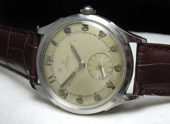 THE FIRST 40ties Omega Automatic Bumper 35mm