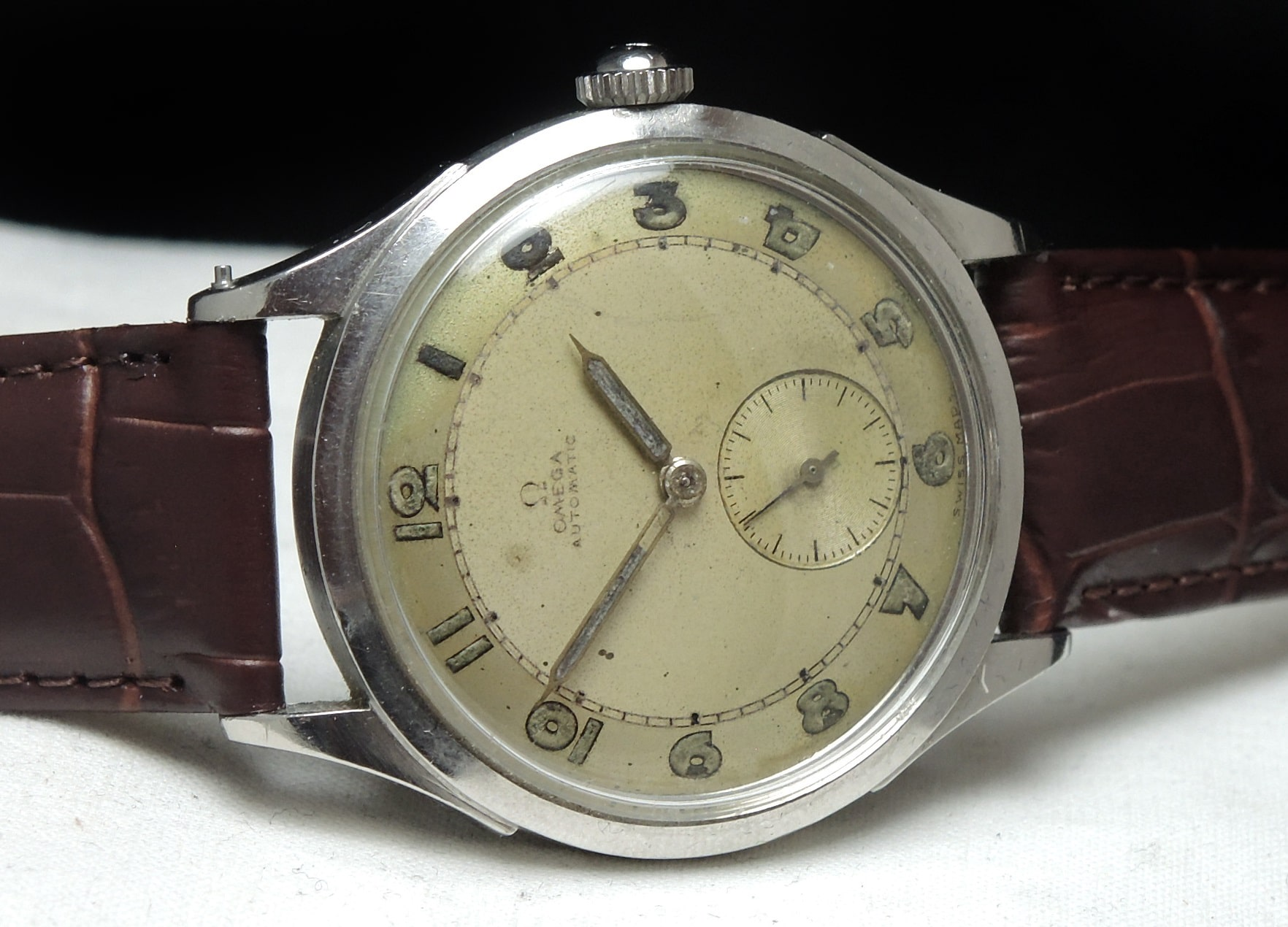 Early 50ties Omega Automatic Bumper 35mm