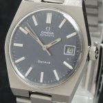 a2360 omega geneve blue linen dial (5)
