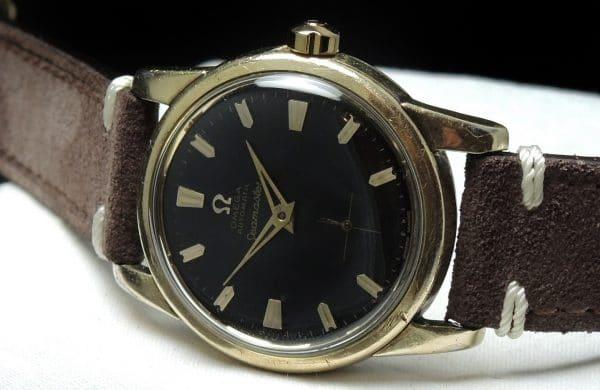 Serviced Omega Seamaster Vintage Honeycomb Dial