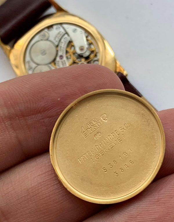 Beautiful Patek Philippe Ellipse Solid Gold ref 3846