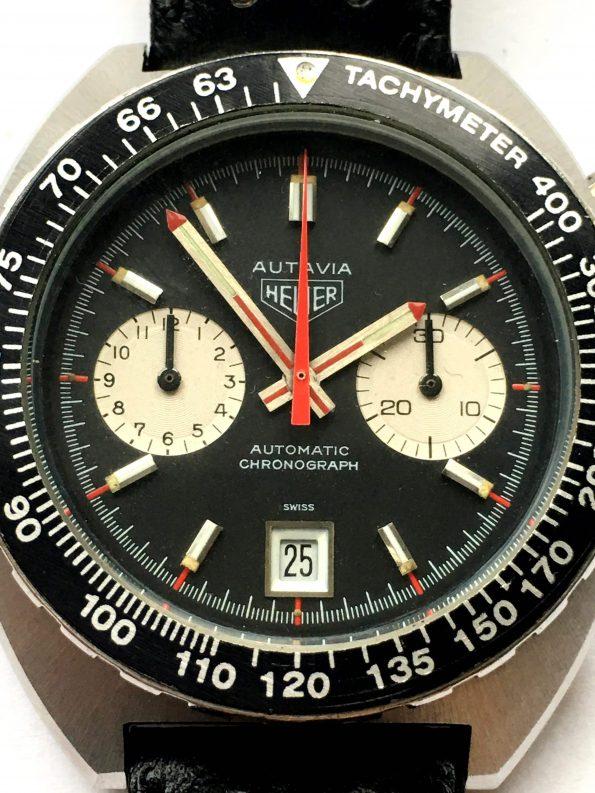 Vintage Heuer Autavia Chronograph KAF Kenyan Air Forces