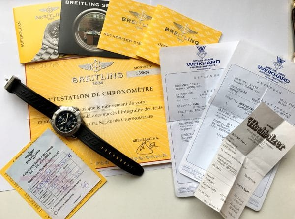 Great Breitling Superocean Full Set