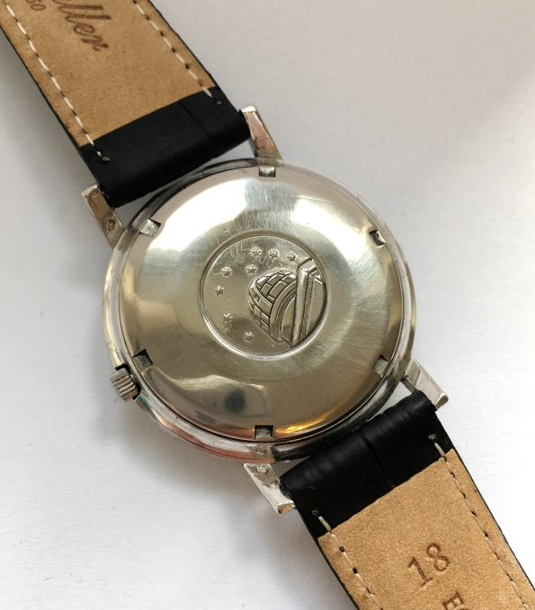 Rare Omega Constellation Automatik SOLID WHITE GOLD