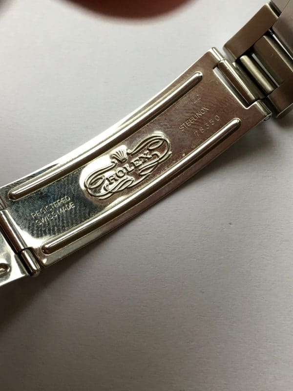 Mint Rolex Date Engine Tuned Bezel Automatik black dial