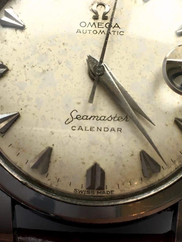 Vintage Omega Seamaster Calendar Automatic Big Seahorse Logo