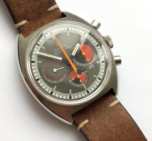 Serviced Omega Seamaster Soccer Watch Chronograph