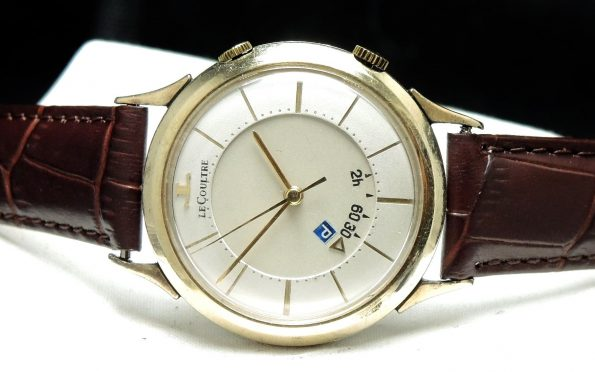 Gold Plated Jaeger LeCoultre Memovox Parking