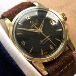 Unrestored Gold Plated Omega Seamaster Calendar
