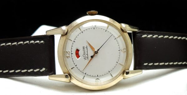 1950s Gold Plated JLC Bumper Automatic Power Reserve