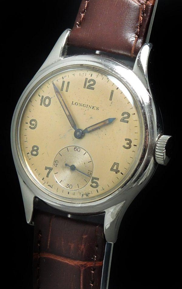 Military Longines Vintage Radium Hands