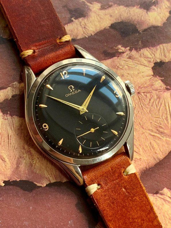 Vintage Omega Oversize Jumbo Black Dial