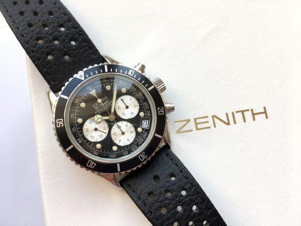 Serviced Zenith El Primero De Luca Vintage