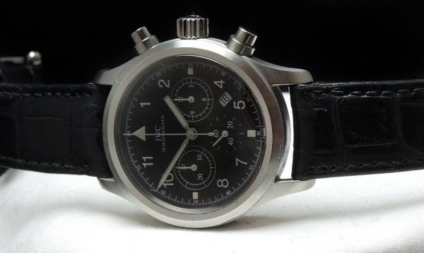 IWC Pilot Chronograph Full Set