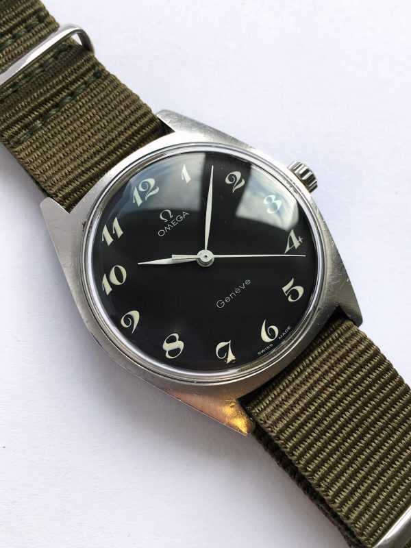 Refurbished Omega Genève with Breguet Numeral Dial