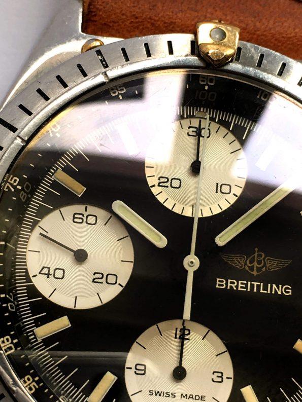 Serviced Breitling Chronomat Vintage Automatic Panda