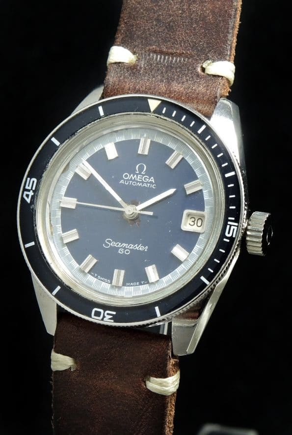 Great Big Crown Omega Seamaster 60 Bakelite Bezel