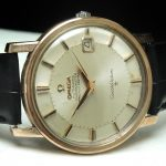 Vintage rose gold plated Omega Pie Pan Constellation Automatic
