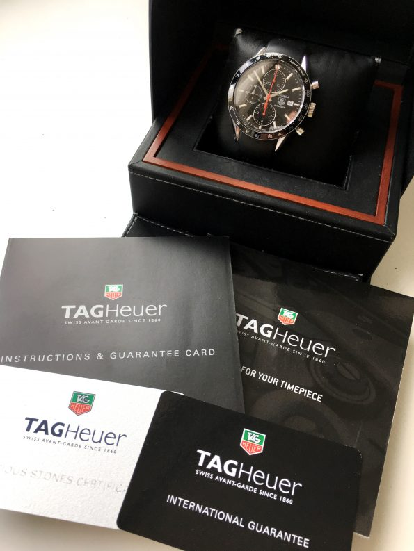 Tag Heuer Carrera Full Set Cal 16 cv2014-2 Chronograph Diver