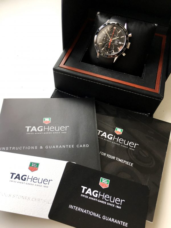 Tag Heuer Carrera Full Set Cal 16 cv2014-2 Chronograph