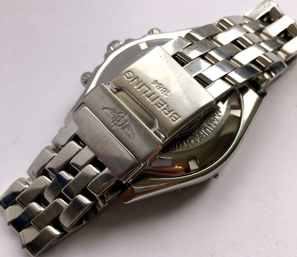 For 480 Euro Serviced Breitling Chronomat Crosswind with Breitling Steel Strap Automatic