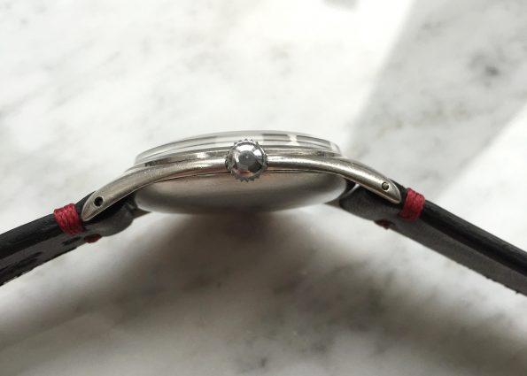 Great Omega Vintage JUMBO 38mm Black Dial