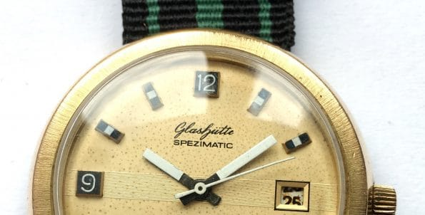 70ties Glashütte Spezimatik Automatic Date 42mm