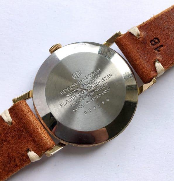 Restored Glashütte Spezimatik Automatic black dial