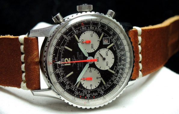 Fully Serviced Breitling Old Navitimer 8808 Top Condition