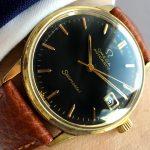 a2495 omega seamaster black brown (2)