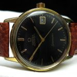 a2495 omega seamaster black brown (5)