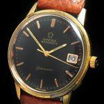 a2495 omega seamaster black brown (8)