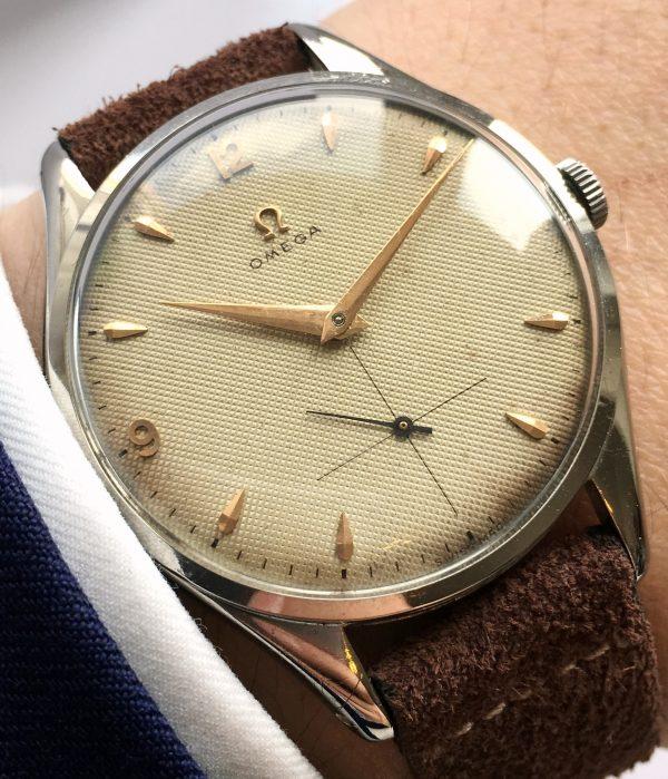 Gorgeous Vintage Jumbo Omega cal 265 Original Honeycomb