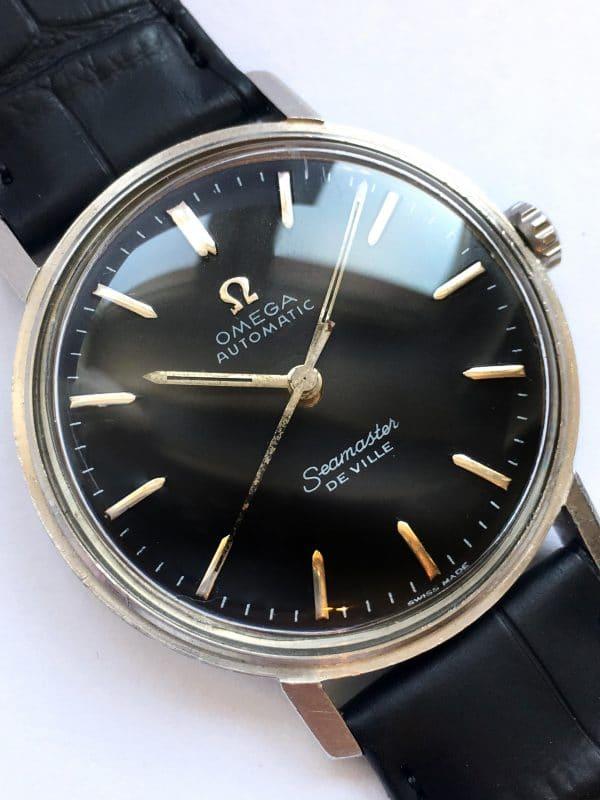 2019 Serviced Vintage Omega Seamaster DeVille Automatic Black Dial