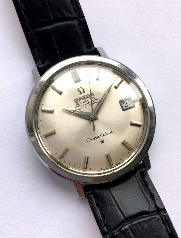 Beautiful Calatrava Case Omega Constellation