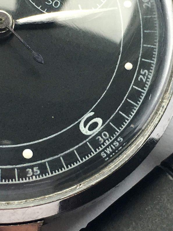 Vintage Angelus Chronograph Oversize Jumbo Steel Case