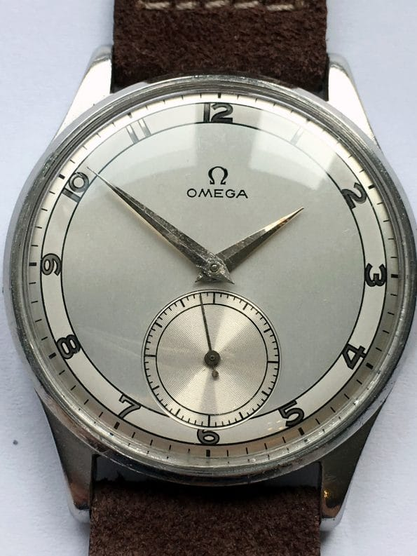 Exquisite Refurbished Jumbo Omega Two Tone 30T2