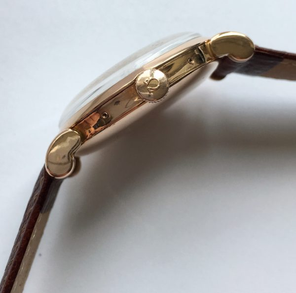 Refurbished Two Tone 18k Gold Omega Triple Date Ref 2473