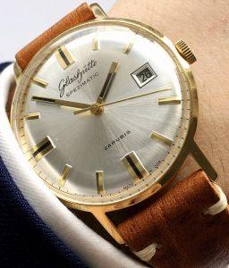 [:en]Vintage Glashütte Spezimatik Automatic silver dial Date[:de]Vintage Glashütte Spezimatik Automatik silbernes Ziffernblatt Datum[:]