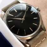 Beautiful Vintage IWC Black Dial Caliber 89
