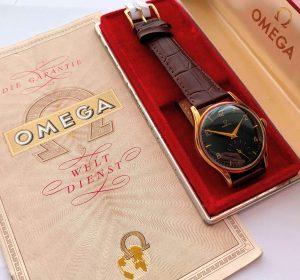 [:en]14k Solid Gold Vintage Omega Ref 2508 Full Set[:de]14k Vollgold Vintage Omega Ref 2508 Full Set[:]