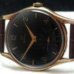 a2532 omega gold patina black dial (6)